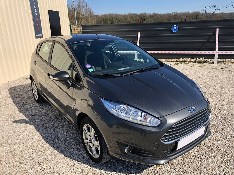 Ford FIESTA 1.0 ECOBOOST 100CH STOP&START EDITION 5P Essence GRIS MAGNETIC Occasion à vendre